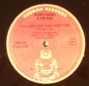 KNIGHT, Gladys & THE PIPS - It's A Better Than Good Time