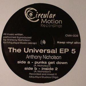 NICHOLSON, Anthony - Universal EP 5