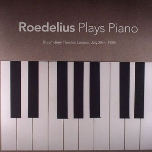 ROEDELIUS - Plays Piano: Bloomsbury Theatre London July 28th 1985