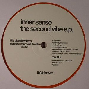 INNER SENSE - The Second Vibe EP