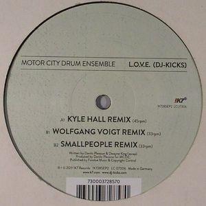 MOTOR CITY DRUM ENSEMBLE - LOVE (remixes)
