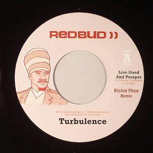 TURBULENCE - Live Good & Prosper