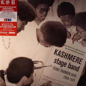 KASHMERE STAGE BAND - Texas Thunder Soul (1968-1974) (expanded edition)
