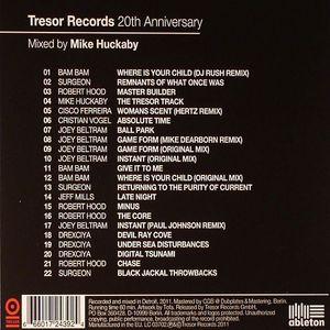 HUCKABY, Mike/VARIOUS - Tresor Records 20th Anniversary