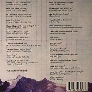 BVDUB/ANDREW THOMAS/VARIOUS - Air Texture Volume I