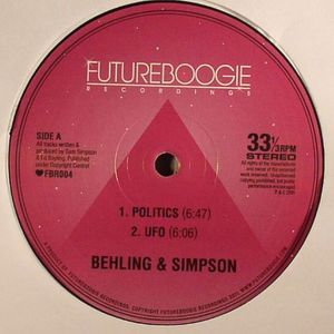 BEHLING & SIMPSON - Behling & Simpson EP