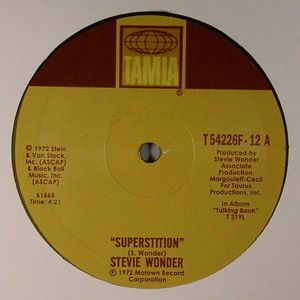 WONDER, Stevie - Superstition