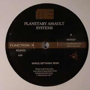 PLANETARY ASSAULT SYSTEMS - Function 4 Remixes Episode 1
