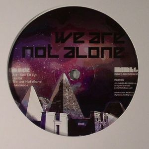 DJ JUS ED/JOEY ANDERSON - We Are Never Alone