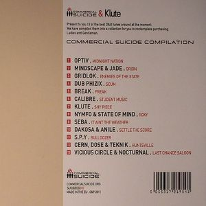 VARIOUS - Commercial Suicide Compilation
