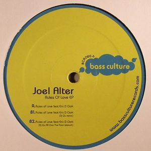 ALTER, Joel feat ERIC D CLARK - Rules Of Love EP