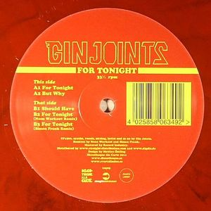 GIN JOINTS - For Tonight