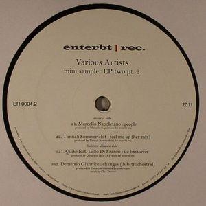 NAPOLETANO, Marcello/TIMNAH SOMMERFELDT/QUIKE/DEMETRIO GIANNICE - Mini Sampler EP Two Part 2