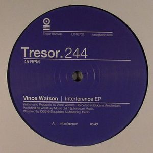 WATSON, Vince - Interference EP