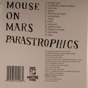 MOUSE ON MARS - Parastrophics