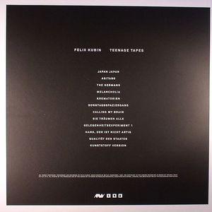 KUBIN, Felix - Teenage Tapes