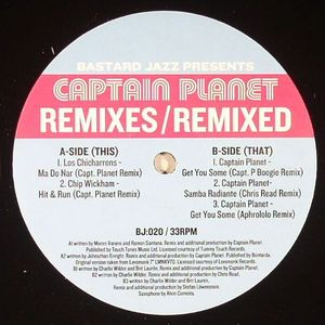 CAPTAIN PLANET - Remixes Remixed