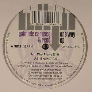 CARASCO, Gabriele/RENE - One Way EP