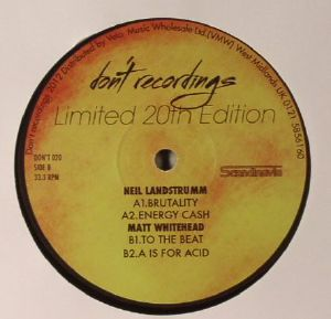 LANDSTRUMM, Neil/MATT WHITEHEAD - Limited 20th Edition