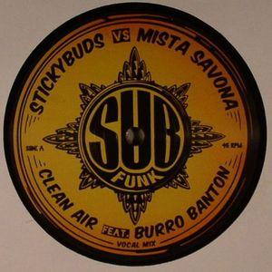 STICKYBUDS vs MISTA SAVONA feat BURRO BANTON - Clean Air