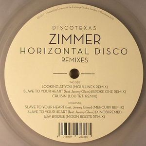 ZIMMER - Horizontal Disco (remixes)