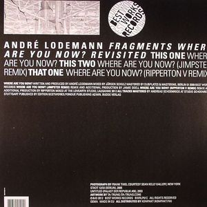 LODEMANN, Andre - Fragments: Where Are You Now? Revisited