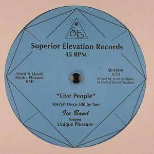 ICE BAND feat UNIQUE PLEASURE - Live People