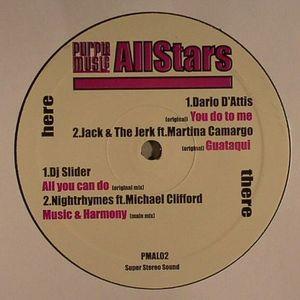 DARIO D'ATTIS/JACK & THE JERK/DJ SLIDER/NIGHTRHYMES - Purple Music Allstars Vol 2