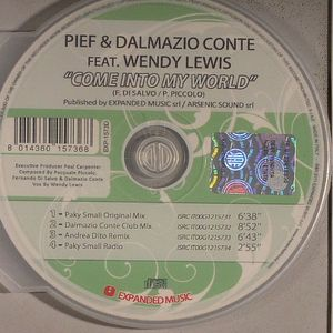 PIEF & DALMAZIO CONTE feat WENDY LEWIS - Come Into My World