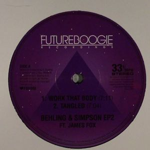 BEHLING & SIMPSON feat JAMES FOX - Behling & Simpson EP 2