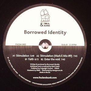 BORROWED IDENTITY - Stimulation EP
