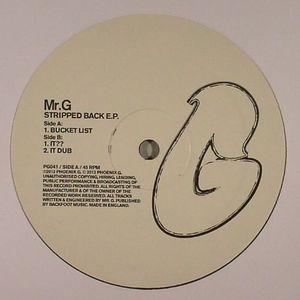MR G - Stripped Back EP