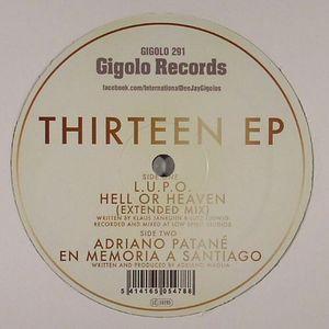DJ HELL presents LUPO/ADRIANO PATANE - Thirteen EP