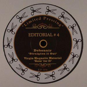 WIZARD, Ed/DISCO DOUBLE DEE/THE NOODLEMAN/DEBONAIR/VIRGIN MAGNETIC MATERIAL - Editorial #4
