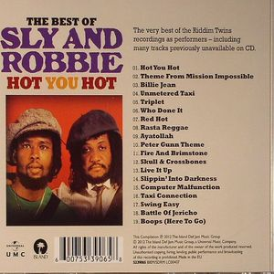 SLY & ROBBIE - The Best Of Sly & Robbie: Hot You Hot