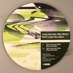 VAZ, Andy feat NIKO MARKS - Don't Lose Your Mind