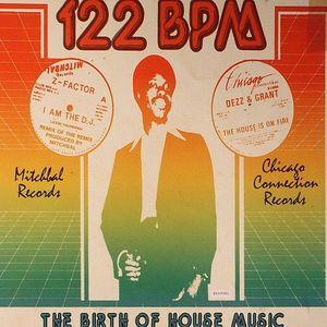 DERRADJI, Jerome/VARIOUS - 122 BPM: The Birth Of House Music