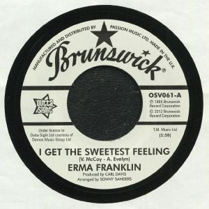 FRANKLIN, Erma/LAVERNE BAKER - I Get The Sweetest Feeling (reissue)