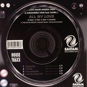MAURI, Sergio/ANDREA VINAI/ALESSANDRO VINAI feat SAHRA L - All My Love