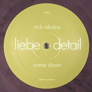 NIKOLOV, Nick/ROMPANTE - Come Down