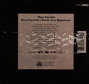 PARRISH, Theo/VARIOUS - Theo Parrish Black Jazz Signature
