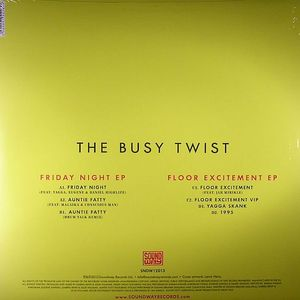 BUSY TWIST, The - Friday Night EP
