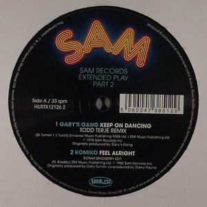 GARY'S GANG/KOMIKO/JOHN DAVIS & THE MONSTER ORCHESTRA - Sam Records Extended Play 2