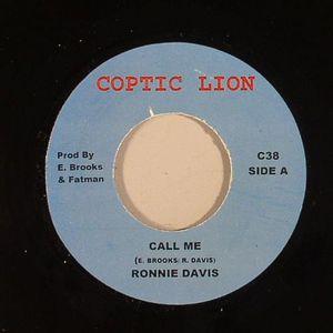DAVIS, Ronnie - Call Me