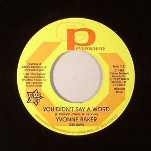 BAKER, Yvonne/HATTIE WINSTON - You Didn't Say A Word