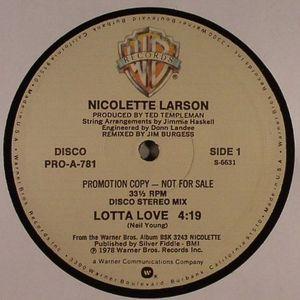 LARSON, Nicolette - Lotta Love