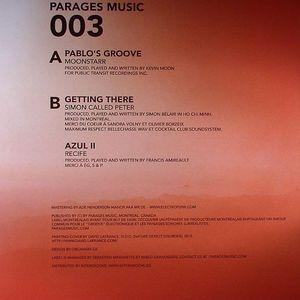 MOONSTARR/SIMON CALLED PETER/RECIFE - Pablo's Groove