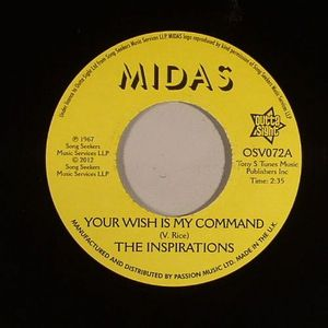 INSPIRATIONS, The - Your Wish Is My Command