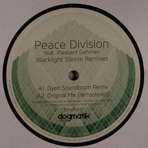 PEACE DIVISION feat PLEASANT GEHMAN - Blacklight Sleaze