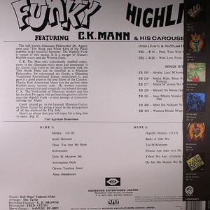 CK MANN & HIS CAROUSEL 7 - Funky Highlife